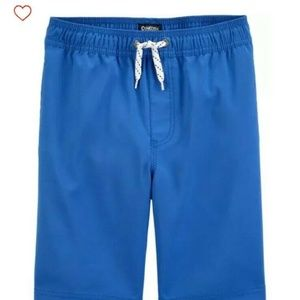 NEW w/o tags Osh Kosh Pool-To-Play Shorts - Blue